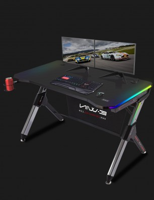 E-WIN 2.0 EDITION RGB GAMING DESK