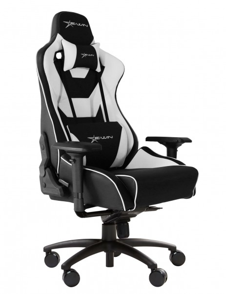 E-Win Europe Flash Normal Series FLC Ergonomic Office Gaming Chair with Free Cushions