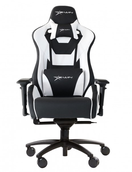 E-Win Europe Flash XL Series FLC-XL Ergonomic Office Gaming Chair with Free Cushions