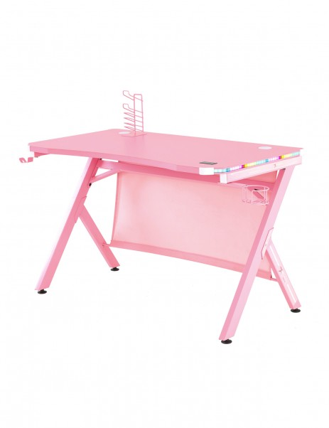 E-WIN 2.0 Edition RGB Pink Gaming Desk