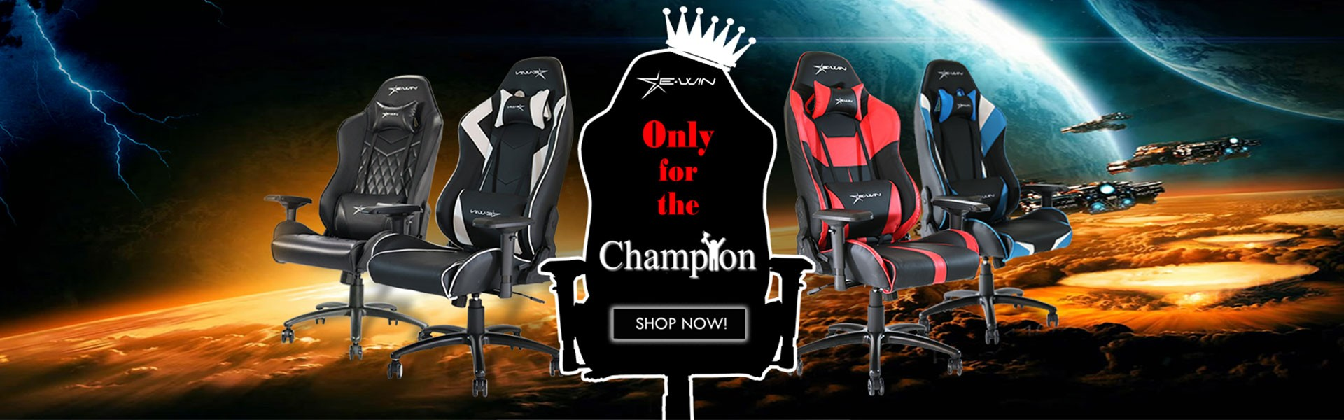 2018 EWIN Europe Champion Series Gaming Chairs !