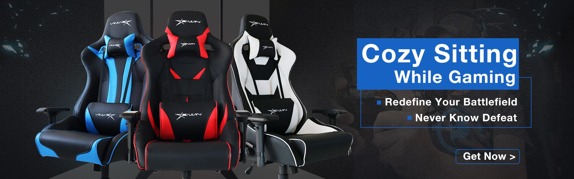 Europe Flash Series Gaming Chairs