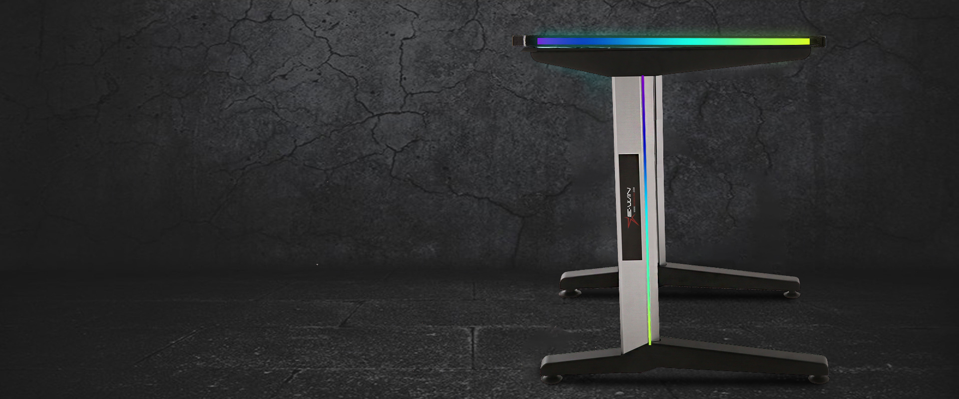 E-WIN RGB Gaming Desk